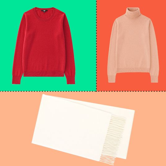 801443977cff02 There s Quite a Bit of Cashmere on Sale at Uniqlo Right Now
