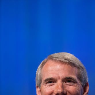 U.S. Sen. Rob Portman (R-OH) attends the 2012 Fiscal Summit on May 15, 2012 in Washington, DC.
