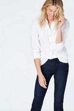 J.Jill Classic White Shirt