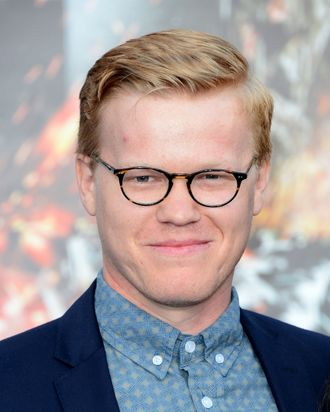 LOS ANGELES, CA - MAY 10: Actor Jesse Plemons arrives at the Premiere Of Universal Pictures'