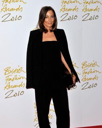 Celine designer Phoebe Philo.
