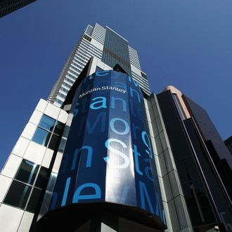 Morgan Stanley headquarters Times Square