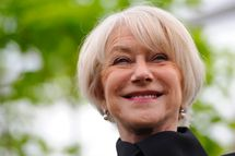 Helen Mirren attends the Chelsea Flower Show  press and VIP preview day at Royal Hospital Chelsea on May 20, 2013 in London, England.