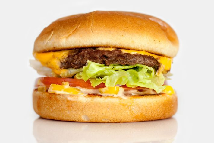 A classic In-N-Out burger.