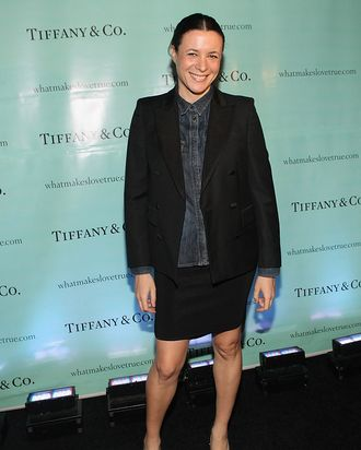 NEW YORK, NY - JANUARY 25: Garance Dore attends the Tiffany celebration of the launch of True Love in Pictures with the Sartorialist Scott Schuman and Garance Dore at Tiffany & Co. on January 25, 2012 in New York City. (Photo by Bennett Raglin/Getty Images for Tiffany)