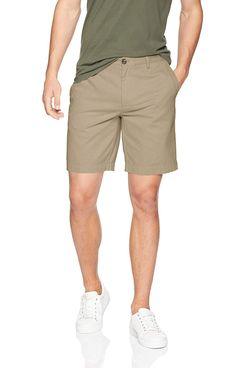 Amazon Essentials Men's Slim-Fit Short in Khaki