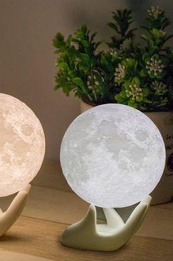 Moon Lamp 3D Printed