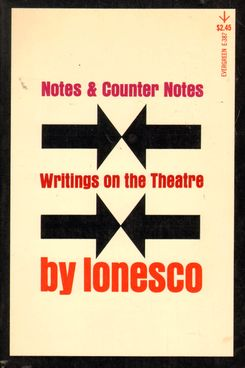 Notes and Counter Notes by Eugène Ionesco