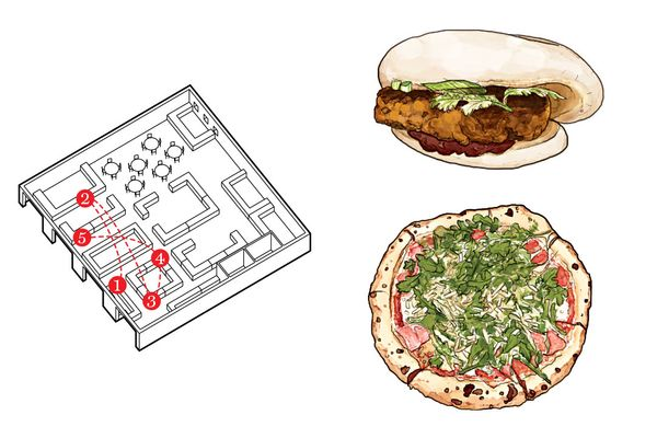 The Best $25-and-Under Feasts at New York's Newest Food Courts