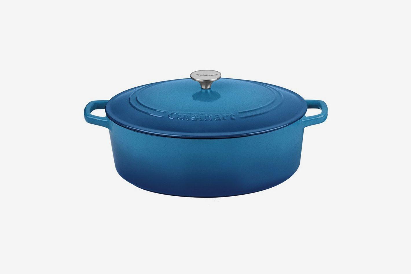Cuisinart Oval Casserole, Gradient Blue, 7-Qt.