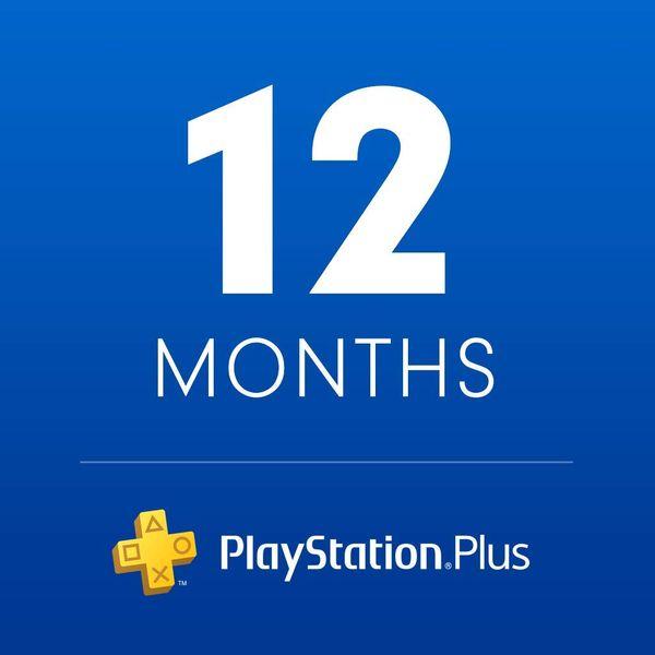 Sony PlayStation Plus: 12-Month Membership