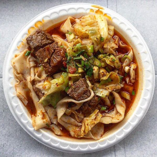 Xian Famous Foods Hot Oil-Seared Hand-Ripped Noodles Kit