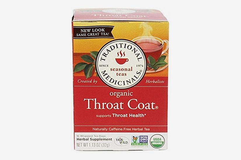 Traditional Medicinals Organic Throat Coat Tea, 16-Count