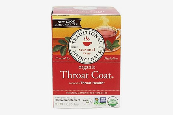 Traditional Medicinals Organic Throat Coat Tea, 16-Count