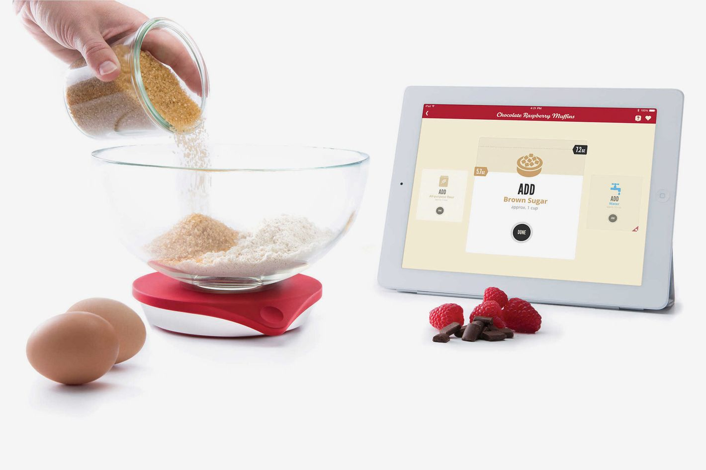 Drop Scale Smart Kitchen Scale and Recipe App