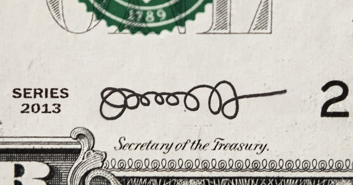 jack lew s terrible signature may grace dollar bills now grace dollar bills