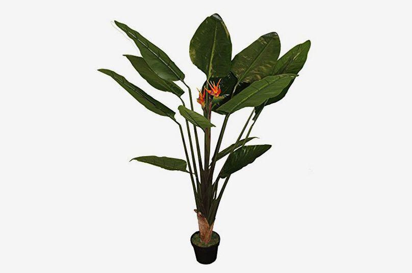 """Entrada Artificial Paradise Bird Plant, 9"""" x 15"""" x 42"""""""