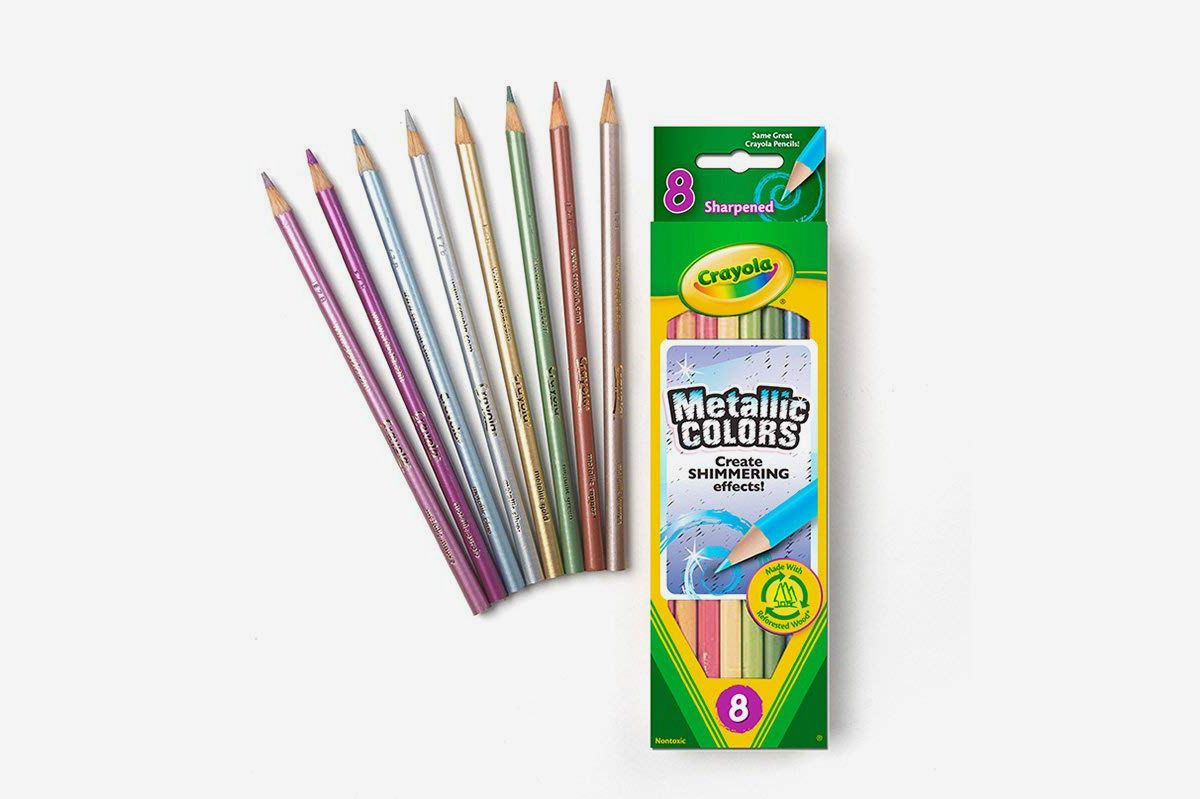 Crayola 8-Count Metallic FX Colored Pencils