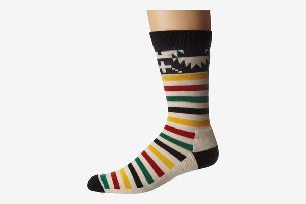 Pendleton Merino Jacquard Park Crew Socks
