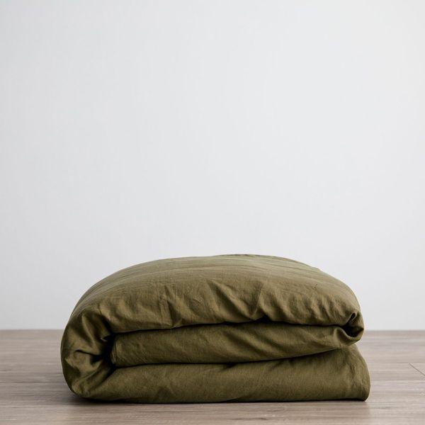 Cultiver Linen Duvet Cover, Queen