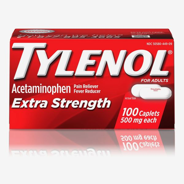 TYLENOL Extra Strength Pain Reliever & Fever Reducer 500 mg Caplets