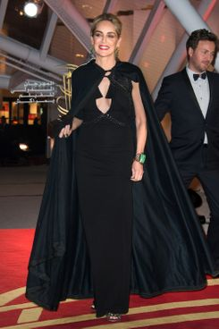 Sharon Stone arrives at the opening ceremony of the 13th Marrakesh International Film Festival on November 29, 2013 in Marrakech, Morocco.