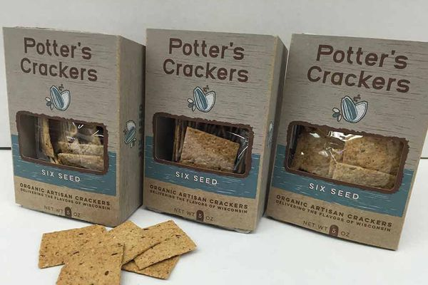 Potter's Crackers Organic Six Seed Crackers