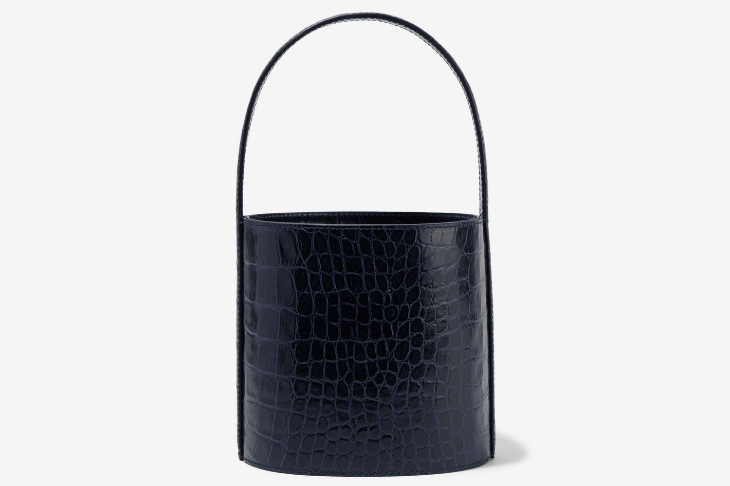The Biggest Handbag Trend For Spring 2018 Sling Bag Santai A25 Staud Croc Effect Tote