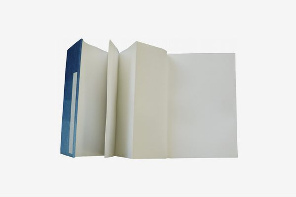 A6 Lined Notebook Ruled Leather Effect Elastic Cream Paper Notepad
