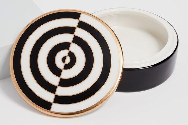 Jonathan Adler Op Art Round Box