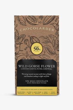 Chocolarder Gorse Flower 50% Milk Chocolate Bar