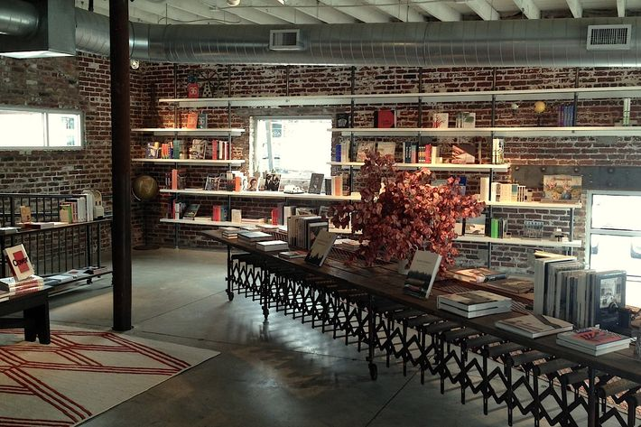 The recently opened Cover bookstore. Photo: Katie Barringer