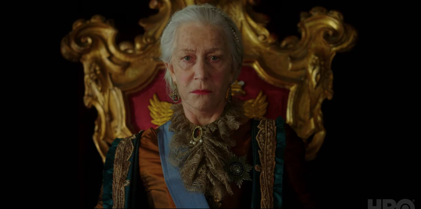 HBO's Catherine the Great Trailer: Absolute Helen Mirren Corrupts Absolutely