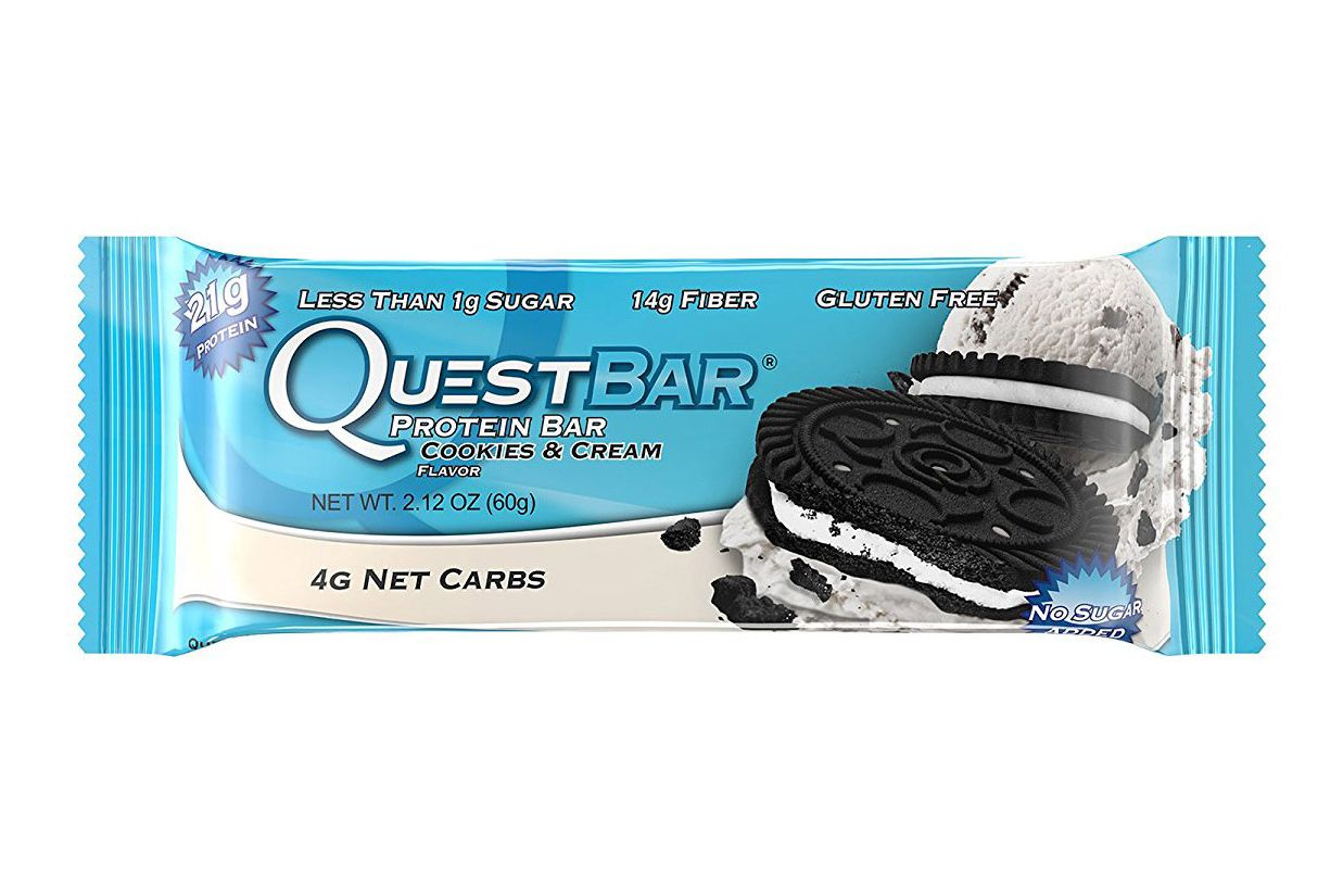Quest Nutrition Protein Bar, Cookies & Cream, 12 count