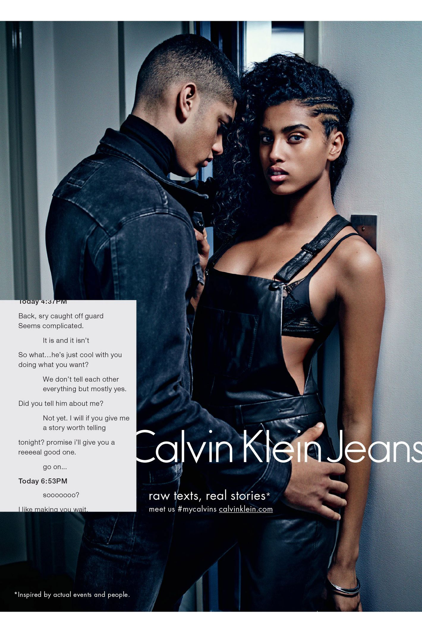 calvin klein s fall denim ads redefine the meaning of sex sells