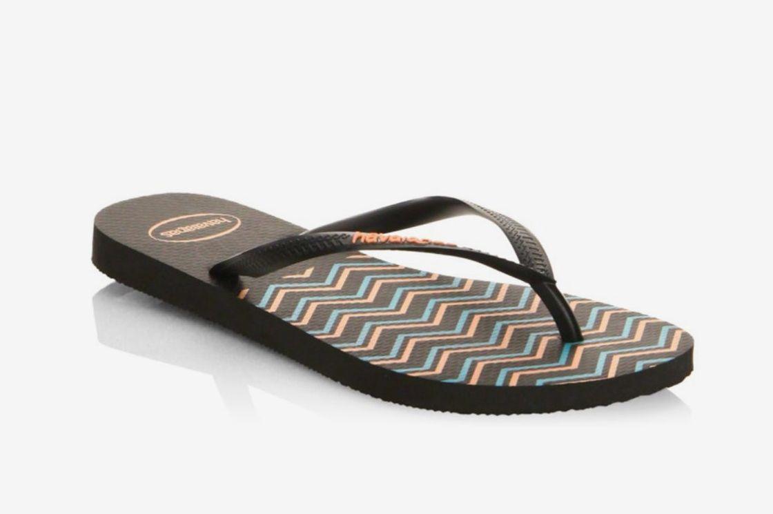 Havaianas Slim Zigzag Flip Flops