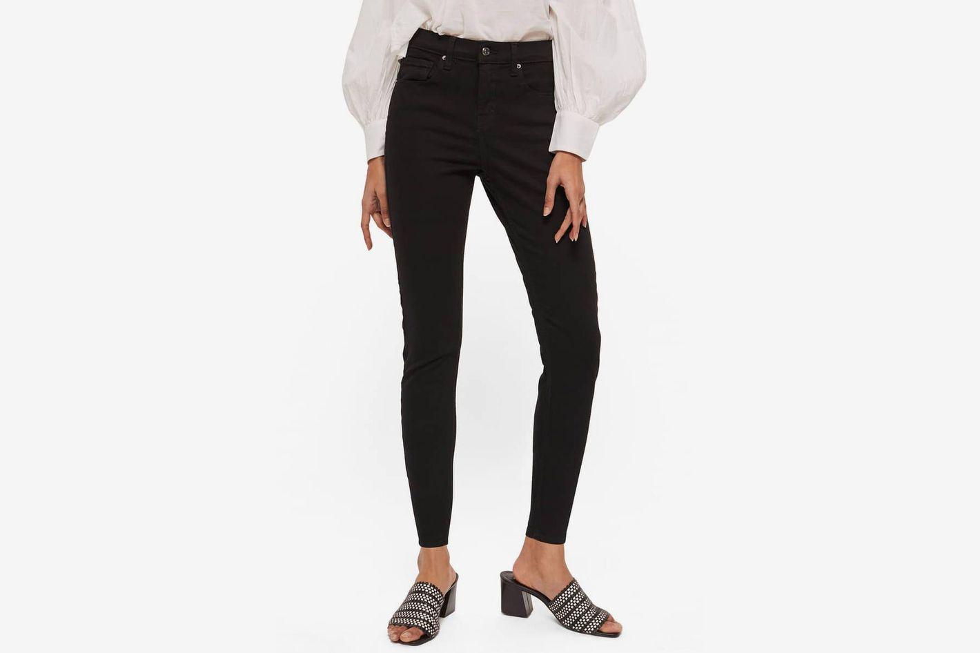 945d07a336579 Topshop Jamie Petite Black Jeans