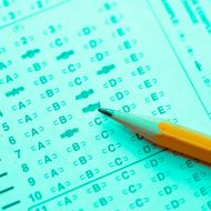 Multiple Choice Test Form