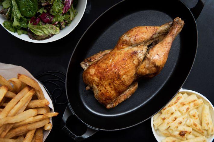 Rotisserie chicken.
