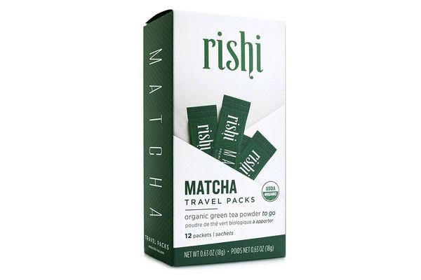 Rishi Tea Organic Matcha Japanese Green Tea Powder, 12 Travel Packets