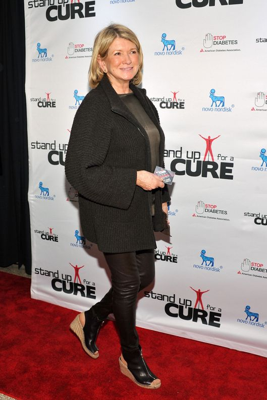 Martha Stewart attends Stand Up For A Cure 2013 at Madison Square Garden on April 17, 2013 in New York City.  (Photo by D Dipasupil/FilmMagic)