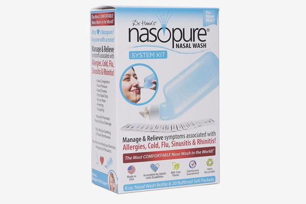 "Nasopure ""Nicer Neti"" Pot Sinus Wash System"