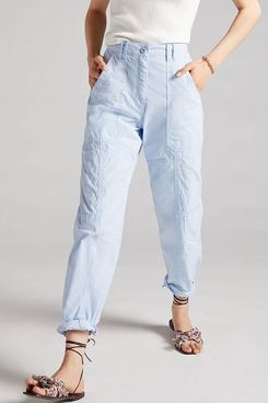 Anthropologie Maeve Tapered Pants