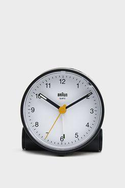 Braun BC01 Classic Alarm Clock in Black / White
