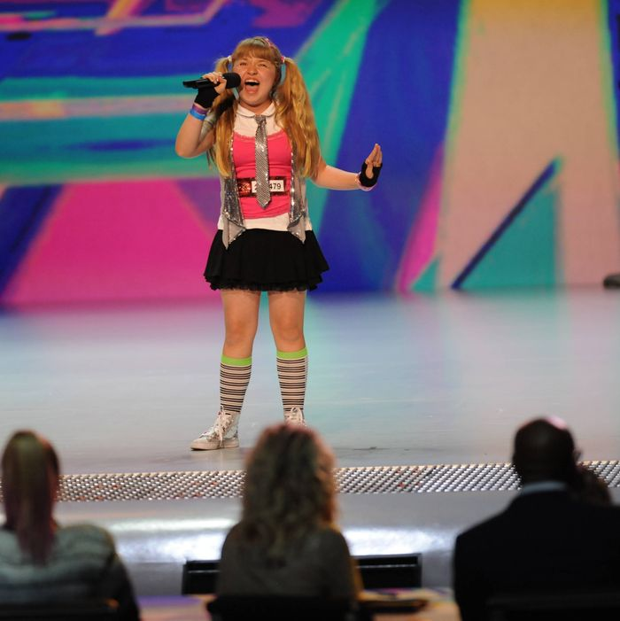 THE X FACTOR: Jordyn Foley performs in front of the judges on an all new epsiode of THE X FACTOR airing Thursday, Sep. 27 (8:00-9:00PM ET/PT) on FOX. CR: Ray Mickshaw/ FOX