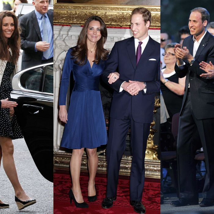Kate Middleton in various Issa dresses.