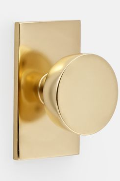 Rejuvenation Tumalo Brass Interior Doorknob Set