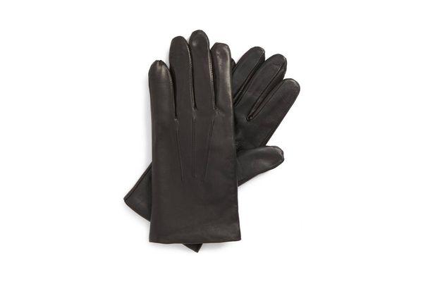 John W. Nordstrom Leather Tech Gloves