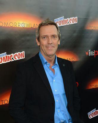 NEW YORK, NY - OCTOBER 09: Actor Hugh Laurie attends Walt Disney Studios' 2014 New York Comic Con presentations of