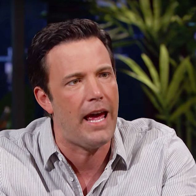 Ben Affleck's Face Struggles to Keep Up With His Rage